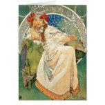 Tarjeta de felicitación de princesa Hyacinth de Al
