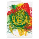 Tarjeta de felicitación de Rastafari