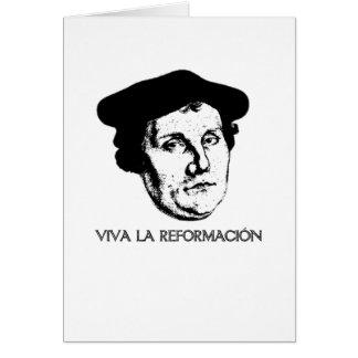 Tarjeta de felicitación de Revolución del La de Vi