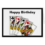 Tarjeta de felicitación de reyes Birthday
