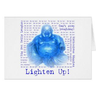 Tarjeta de felicitación de risa de Buda (1)