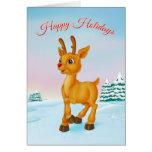 Tarjeta de felicitación de Rudolph