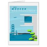 Tarjeta de felicitación de San Francisco