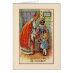 Tarjeta de felicitación de San Nicolás del