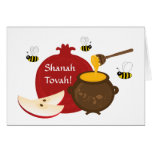 Tarjeta de felicitación de Shanah Tovah