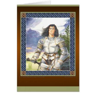 Tarjeta de felicitación de sir Lancelot