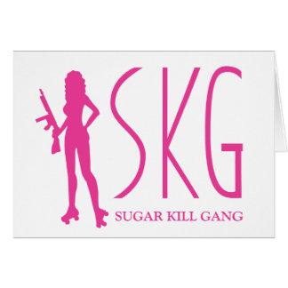 Tarjeta de felicitación de SKG