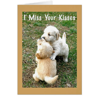 Tarjeta de felicitación de Srta. Your Kisses Paper