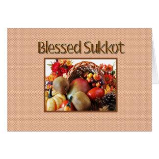 Tarjeta de felicitación de Sukkot