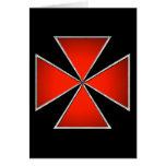 Tarjeta de felicitación de Templar