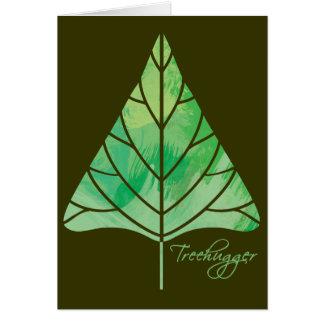Tarjeta de felicitación de Treehugger