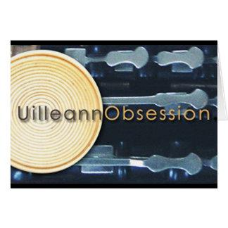 tarjeta de felicitación de UilleannObsession.com