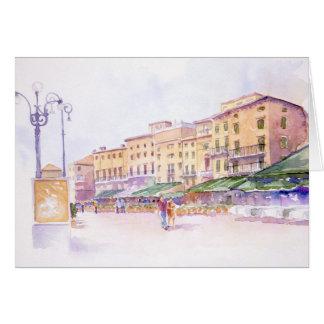 Tarjeta de felicitación de Verona, Italia