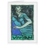 Tarjeta de felicitación de Vivian