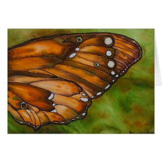 Tarjeta de felicitación del ala de la mariposa 2