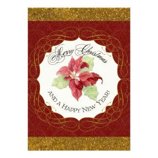 Tarjeta de felicitación del Año Nuevo de las Felic Invitación Personalizada