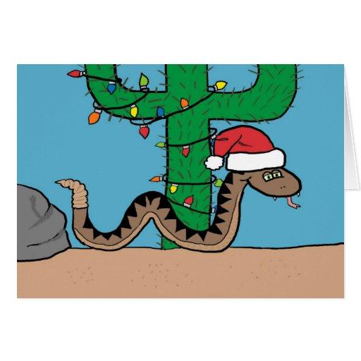 Tarjeta de felicitación del árbol de navidad del c