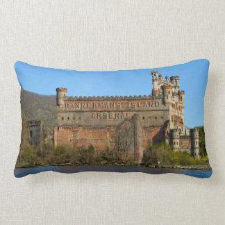 Tarjeta de felicitación del castillo de Bannerman Almohadas