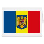 Tarjeta de felicitación del COA de Rumania w