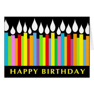 Tarjeta de felicitación del cumpleaños - compañero