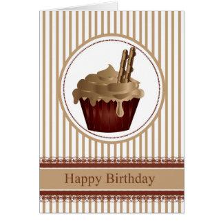 Tarjeta de felicitación del cumpleaños de la magda