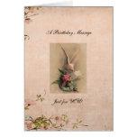 tarjeta de felicitación del cumpleaños… inspirada