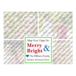 Tarjeta de felicitación del día de fiesta del navi tarjeta postal