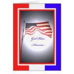 Tarjeta de felicitación del Día de la Independenci