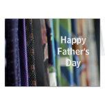 Tarjeta de felicitación del día de padre de la fot