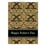 """Tarjeta de felicitación del """"día de padre feliz"""""""