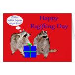 Tarjeta de felicitación del día de Regifting