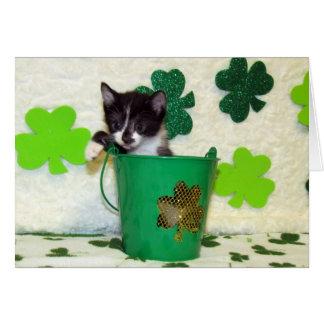Tarjeta de felicitación del día de St Patrick de F