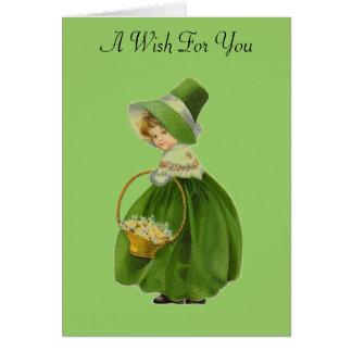 Tarjeta de felicitación del día de St Patrick de l