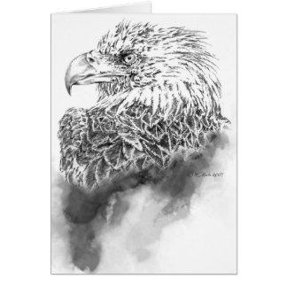 Tarjeta de felicitación del ejemplo de Eagle
