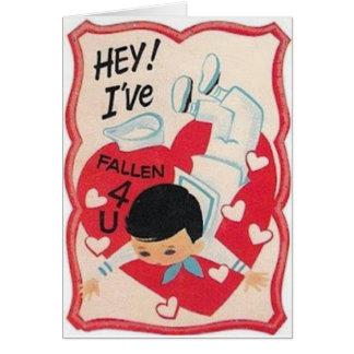 Tarjeta de felicitación del el día de San Valentín