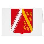 Tarjeta de felicitación del escudo de armas de Als