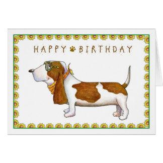 Tarjeta de felicitación del feliz cumpleaños de Ba