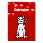 Tarjeta de felicitación del gato de Purfect del el