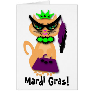 Tarjeta de felicitación del Kat del gatito de la r