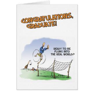 Tarjeta de felicitación del mundo real