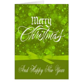 Tarjeta de felicitación del navidad