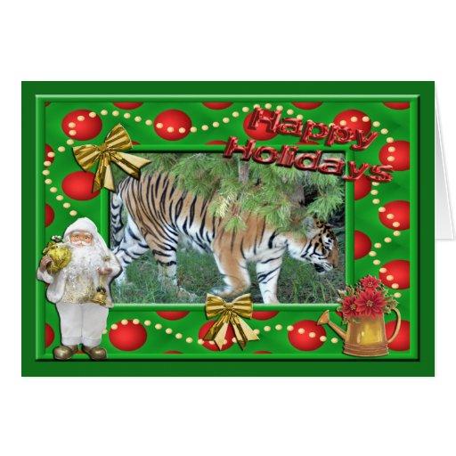 Tarjeta de felicitación del navidad de Auroara del