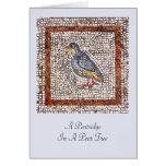 Tarjeta de felicitación del navidad del mosaico de