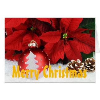 Tarjeta de felicitación del navidad, inclu del