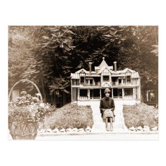 Tarjeta de felicitación del parque zoológico de postales