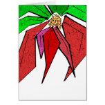 Tarjeta de felicitación del Poinsettia