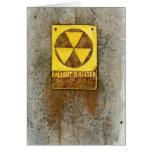 Tarjeta de felicitación del polvillo radiactivo #1