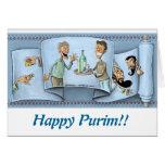 tarjeta de felicitación del purim