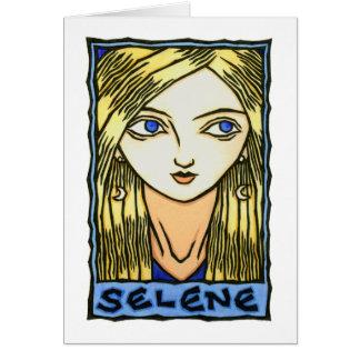 Tarjeta de felicitación del Selene