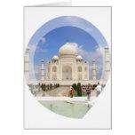 Tarjeta de felicitación del Taj Mahal